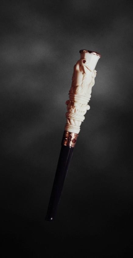 Ювелирные курительные трубки и мундштуки для сигарет