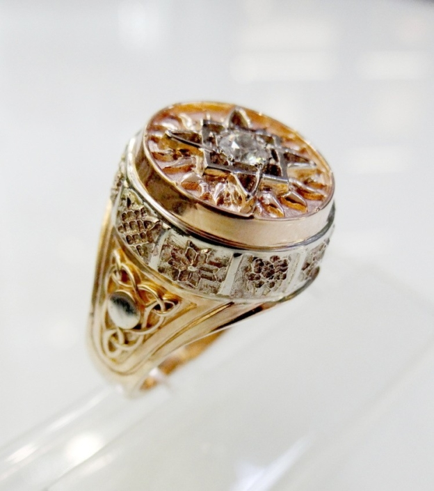 orthodox jewellery ring