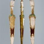 Художественное столовое серебро по авторским эскизам-вазы и бокалы коллекции Греческие Мотивы